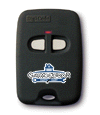 Digi-Code 2 Button Garage Door Opener Key-chain Transmitter